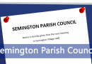 Parish Council Meeting 13th November