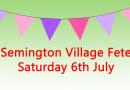 Semington Village Fete – This Saturday 1:30pm
